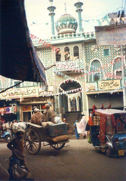 Qasim Ali Khan Mosque, Peshawar, Pakistan (1978)