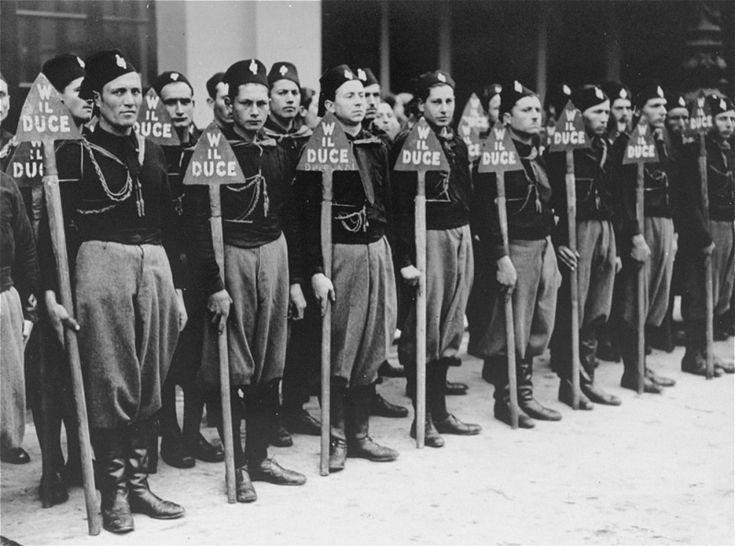 171 best Italian Black shirts and Italian Facist images on ...