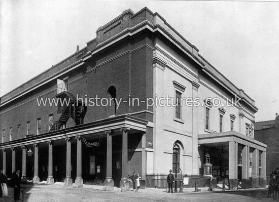 Drury Lane Theatre, London. c.1890's.