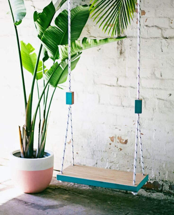 Pop + Scott Thinking Swing! Now these swings have to be one of the most beautiful things we have ever seen and it's definitely something that not everyone will have!