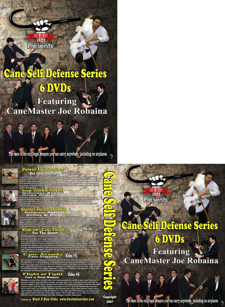 DVDs Videos and Books 73991: Cane Self Defense Series 6 Instructional Dvd Set -> BUY IT NOW ONLY: $63.71 on eBay!