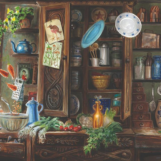 Explore The Cosy Chaos Of The Burrow With This Gorgeous Artwork From Harrypotterillustrat Harry Potter Illustrations Harry Potter Fan Art Harry Potter Jim Kay