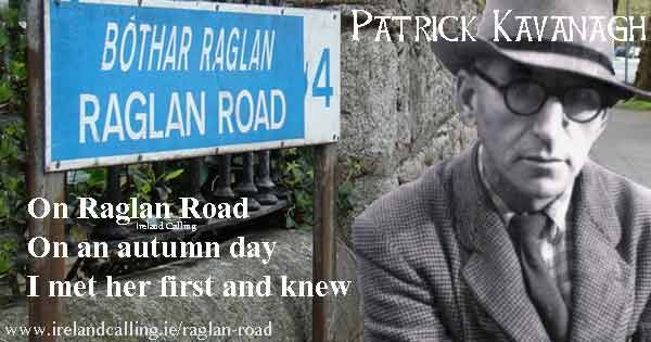 The history of the song, Raglan Road by Patrick Kavanagh
