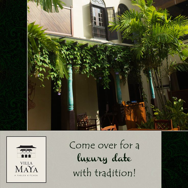 A unique culinary experience. An evening to remember. Sophisticated dining experience. These are a few phrases your guests used to explain their day at Villa Maya! What is yours?