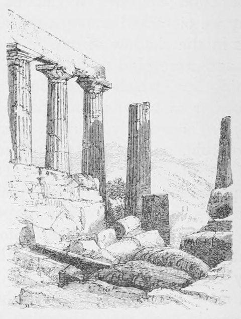 Augustus Hare. In the Temple of Juno Lacinia