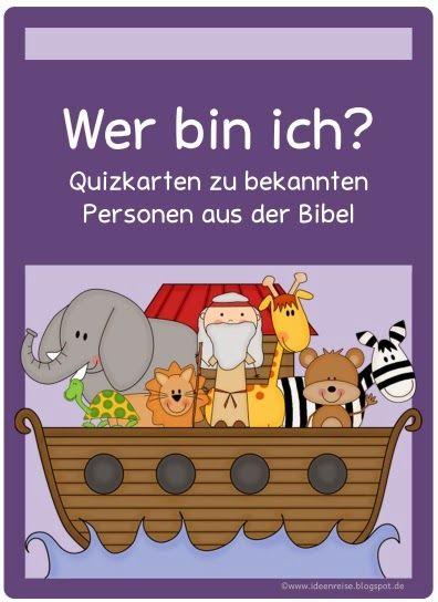 Ideenreise: Biblische Quizkarten                                                                               Mehr
