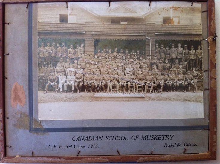 Canadian School of Musketry, Rockcliff, Ottawa 1915