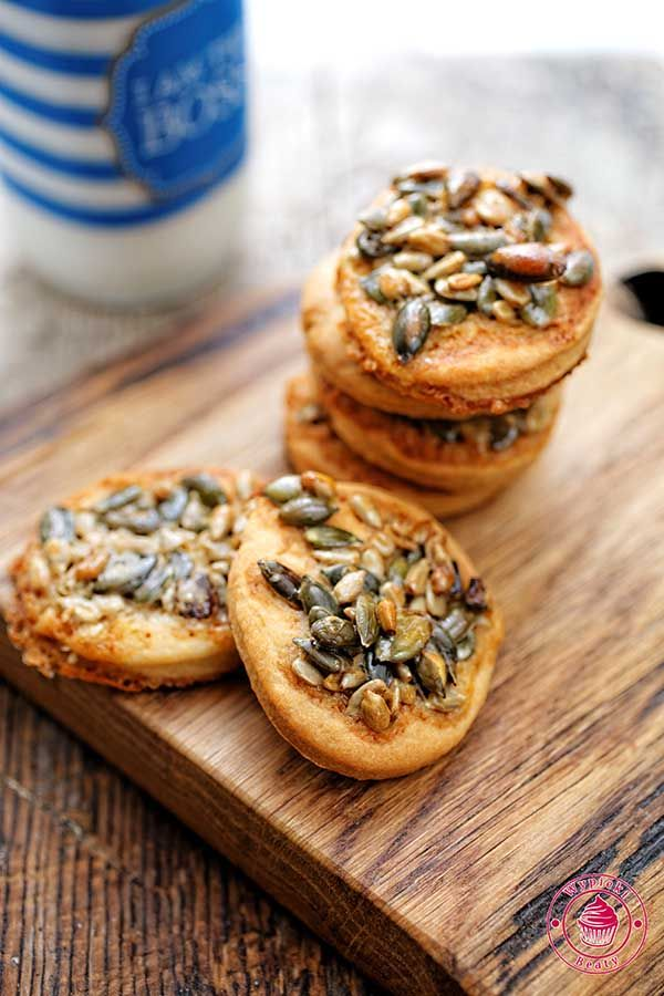 Healthy cookies with seeds and honey - pyszne zdrowe ciasteczka z ziarnami