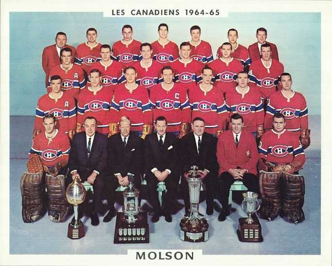 Stanley Cup Champions 1964-65