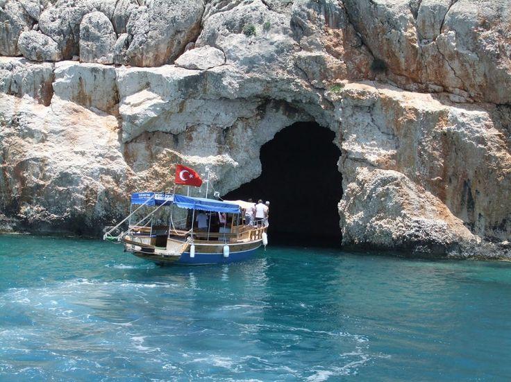 Cave near #Kekova Island, #Antalya, #Turkey