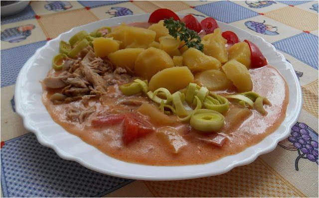 NAŠE KUCHYNĚ: Maďarský vepřový perkelt s bramborem