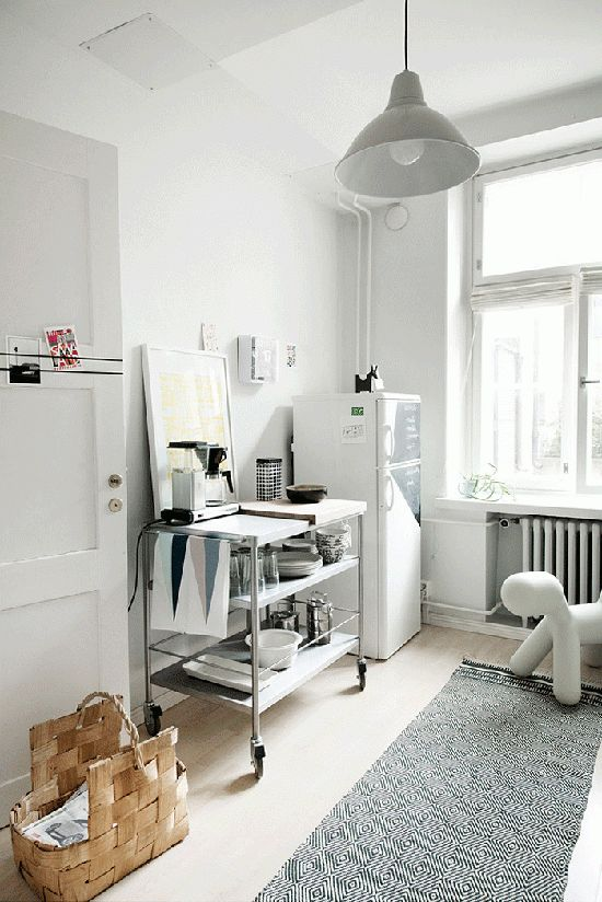 A light and airy Finnish space