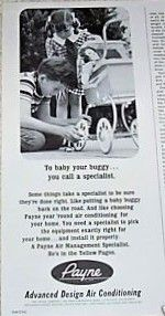 Payne advertising, circa 1967