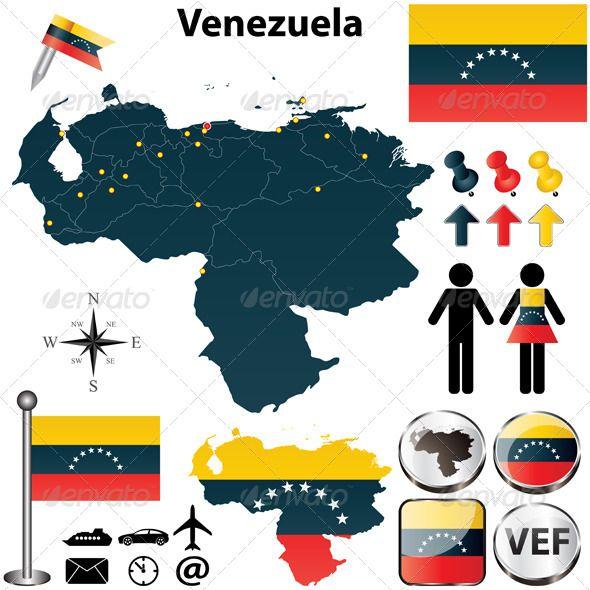25 beautiful icon package ideas on pinterest project e beauty map of venezuela pronofoot35fo Gallery