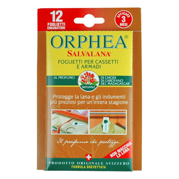 Protect your clothes the natural way with Orphea Clothes Protector strips. Give this seductive Madagascan Cloves variety a go.