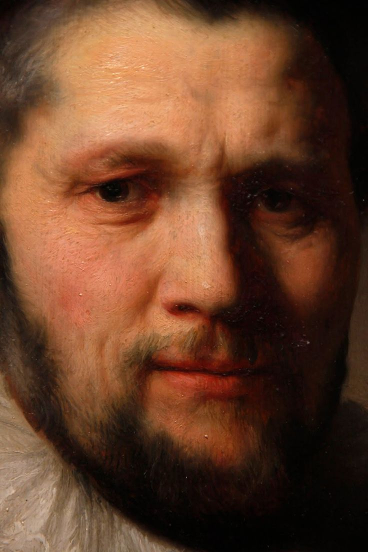 What is the point of painting! Rembrandt's paintings are so stunning! iRembrandt, Portrait of a Young Man, Oil on panel 1632andt