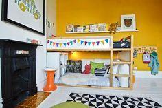 Decor Inspiration - 8 Ways To Customise The Ikea Kura Bed   The Junior