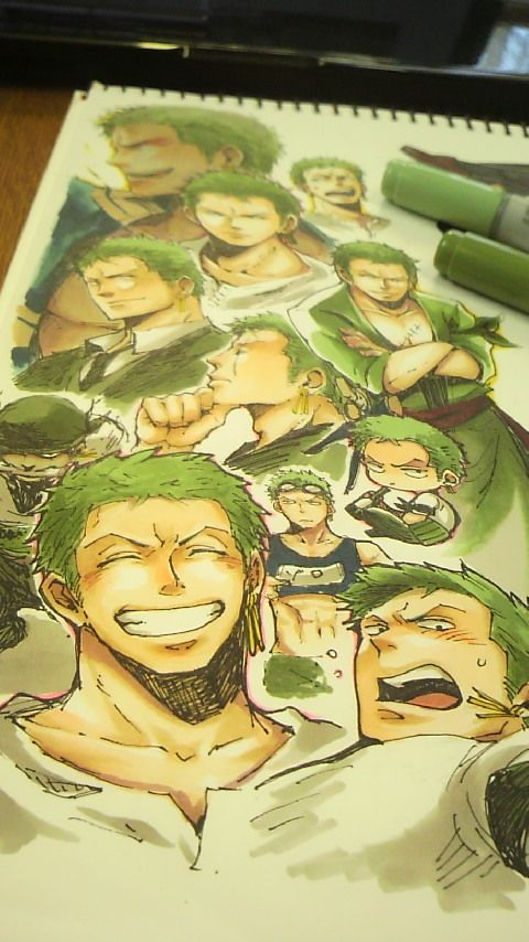 awww~i like roronoa zoro! Though he has totally no sense of direction ;)