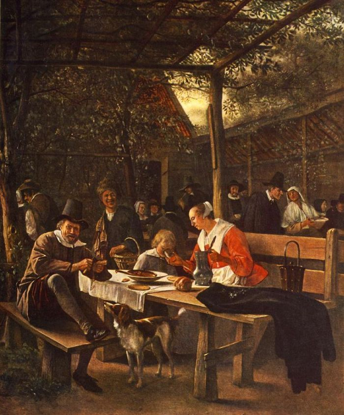 The Picnic by STEEN, Jan #art