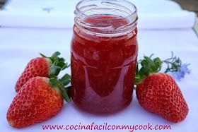 Mis recetas Mycook: Mermelada de fresas