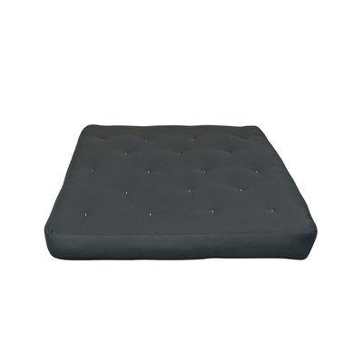 "8"" Cotton Duct Loveseat Futon Mattress - http://delanico.com/futons/8-cotton-duct-loveseat-futon-mattress-759513262/"