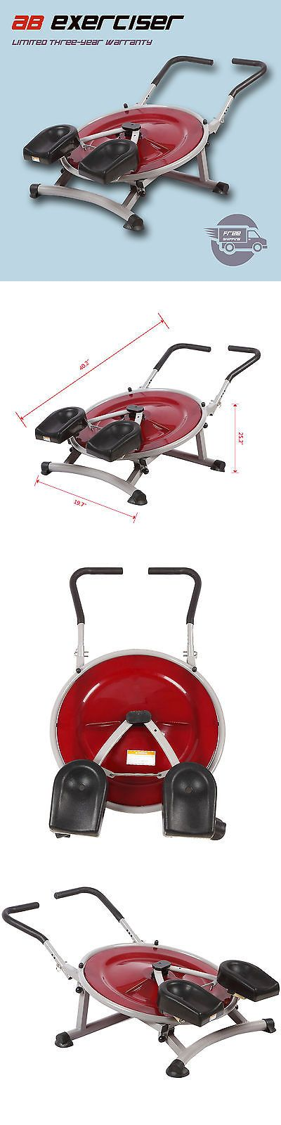 Abdominal Exercisers 15274: Ab Circle Pro Abs Exercise Machine Workout Equipment Abdominal Fitness Home Gym BUY IT NOW ONLY: $50.99