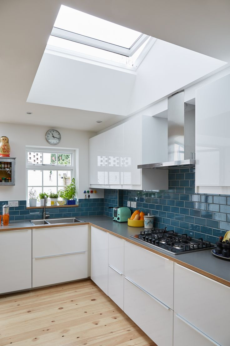 VELUX roof windows can let in twice the daylight of vertical windows, transforming your extension into a more inspiring space. Find out how they transformed life at home for one North London family.