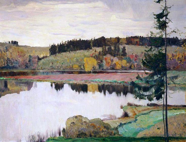 Тройние картинки осенний пейзаж