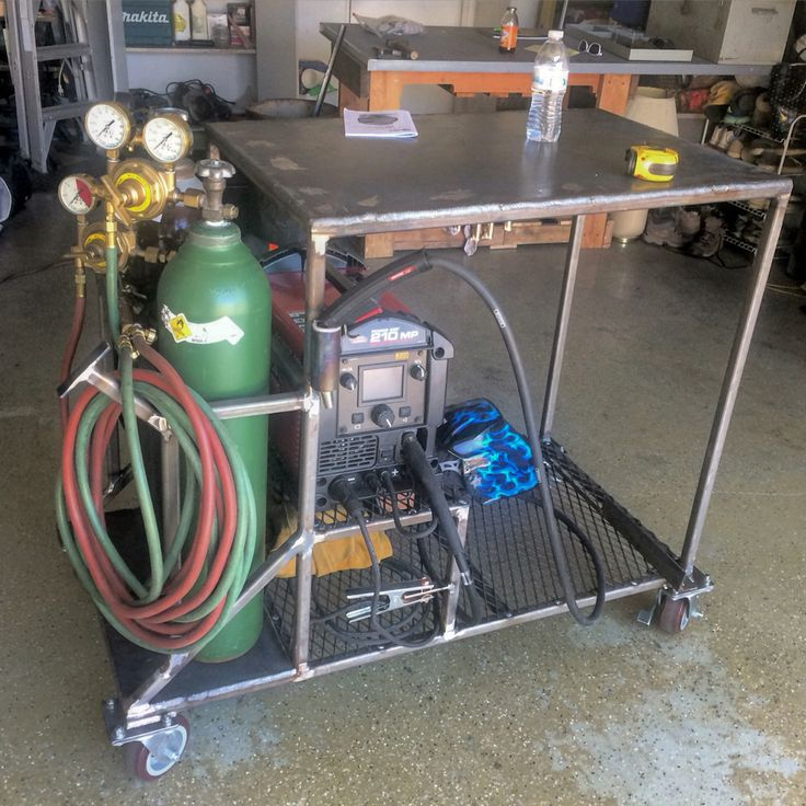 Well this is how my personal welding cart turned out!!!