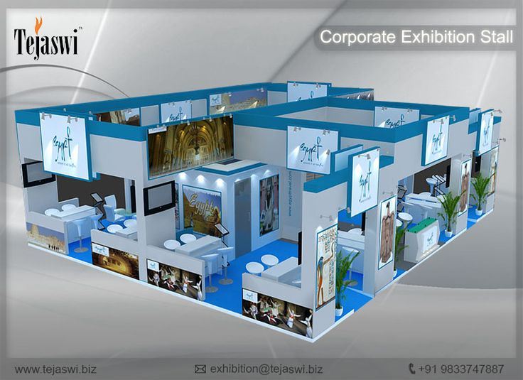 Corporate Exhibition Stall Design Gallery