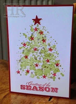 Gorgeous grunge - Stampin' Up! Christmas