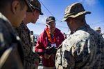 Marine Corps World War II Vets Visit Pohakuloa Training Area https://www.defense.gov/News/Article/Article/1353437/marine-corps-world-war-ii-vets-visit-pohakuloa-training-area/ For more military news join us at facebook.com/groups/milfeedgroup