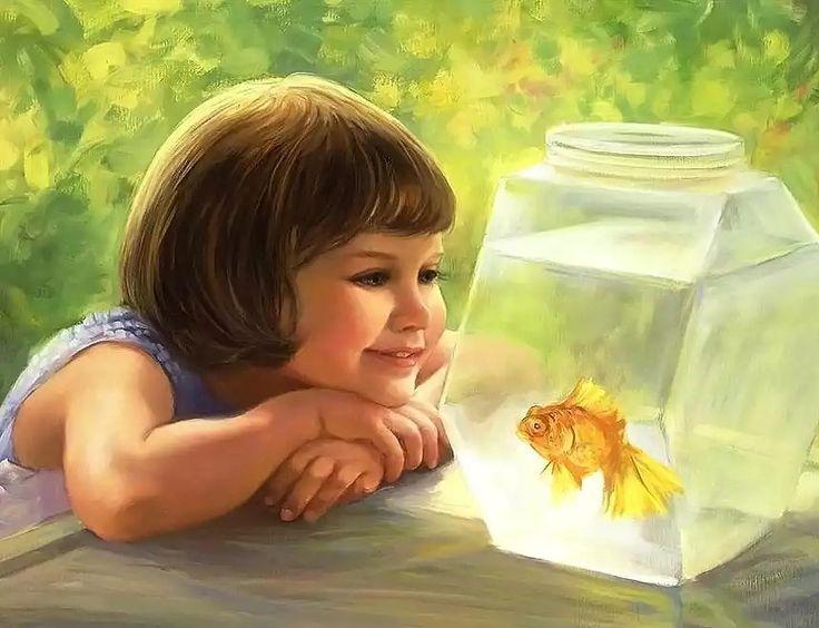 Картинки на тему девочка рисует