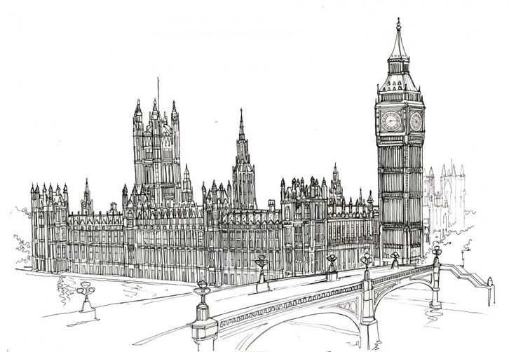 Line Drawing Uk : Best images about sketch of london on pinterest maze