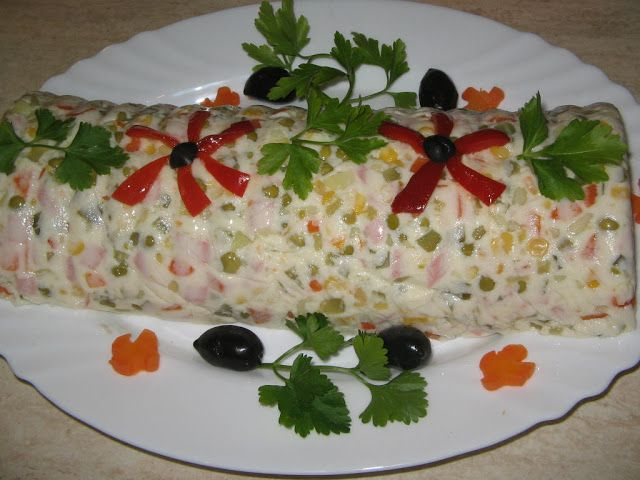 Russian Salad on MyRecipeMagic.com