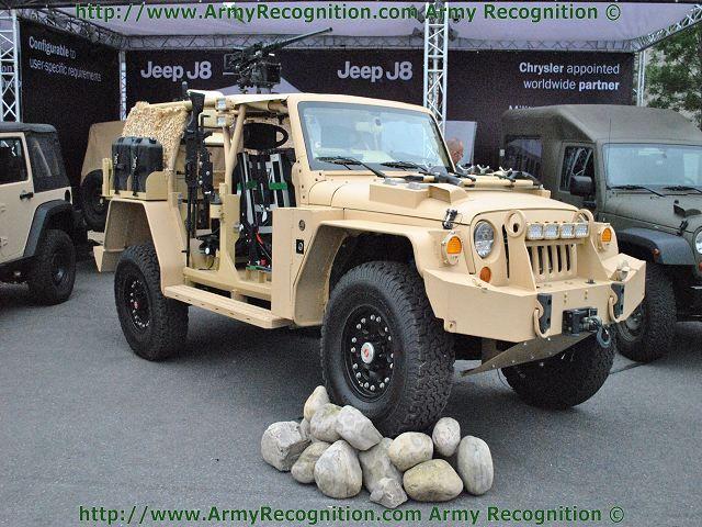 Jankel Jeep J8 Pegasus Special Operations Vehicle Bug