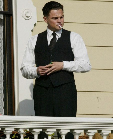 Leonardo DiCaprio as J. Edgar Hoover.
