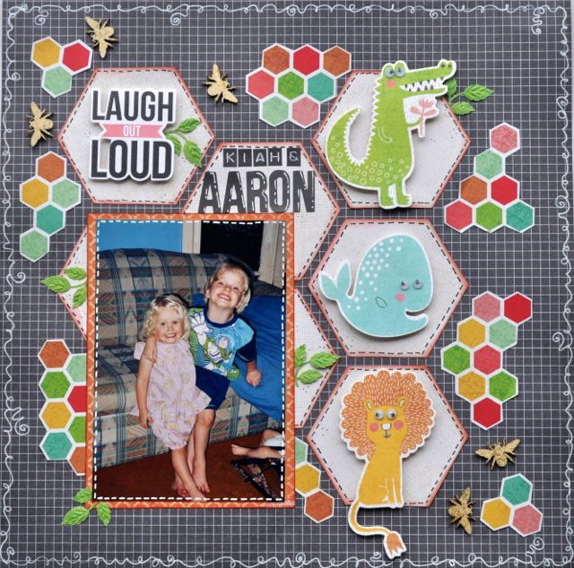 Made using the Hello Sunshine Collection from Kaisercraft. By Kelly-ann Oosterbeek.