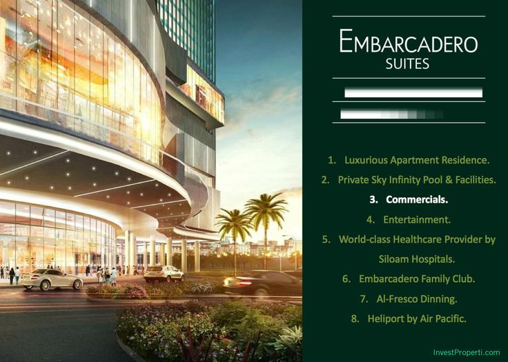 Embarcadero Park Commercial Bintaro Jaya