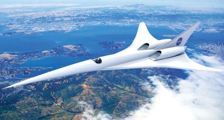NASA начало тестирование прототипа бесшумного сверхзвукового самолёта | Apparat