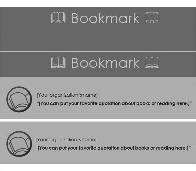 29 best Bookmarker ideas images on Pinterest Book markers - blank bookmark template