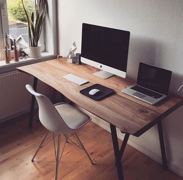 17 Best Ideas About Minimalist Office On Pinterest