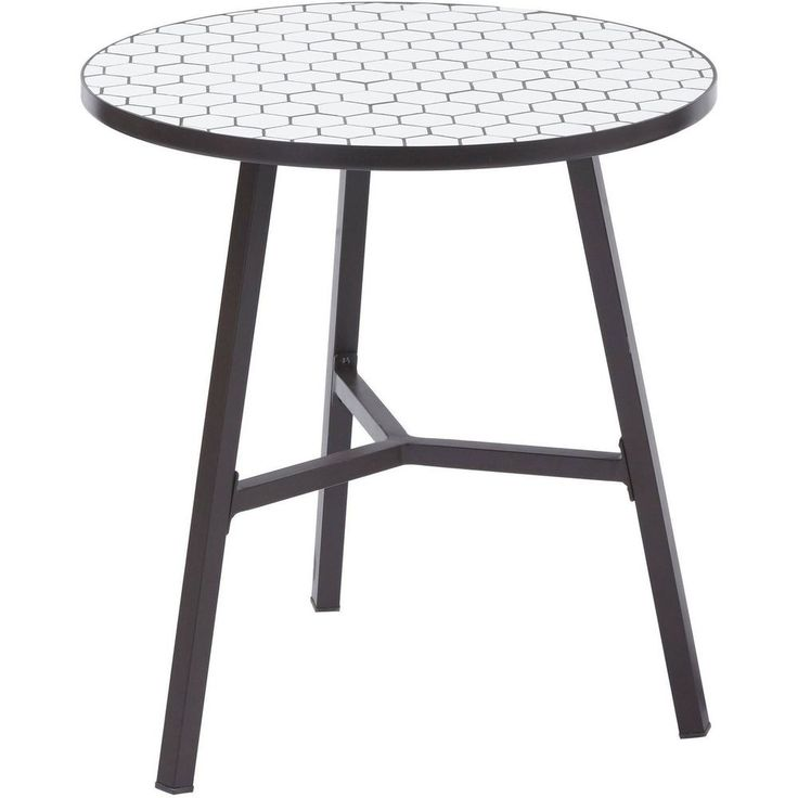 Better Homes and Gardens Camrose Farmhouse Mosaic Tile Top Table | Home & Garden, Furniture, Tables | eBay!