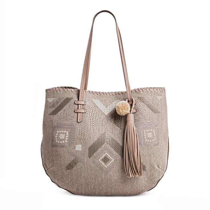T-Shirt & Jeans Women's Natural Instincts Tote Handbag - Taupe (Brown)