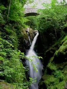 aira force waterfalls - Cumbria