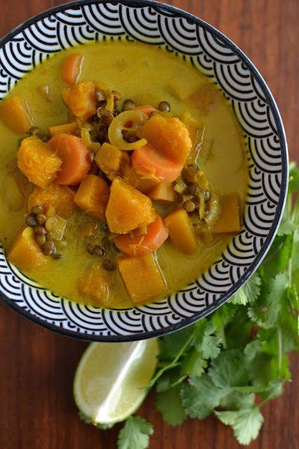 La Cuisine c'est simple: Simple comme un curry de lentilles (panier de recette en kit de chez Cirkle)