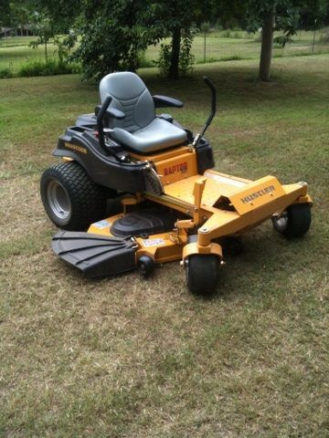 My new mower