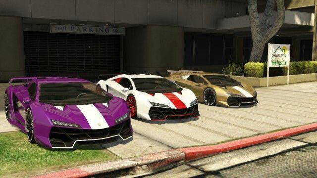 Sports Cars In Gta