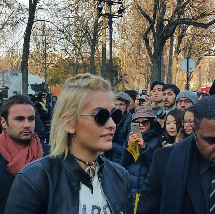 Paris Jackson at the Dior Fashion Show