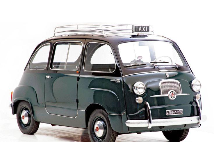 fiat 600 multipla taxi cool cars motor bikes. Black Bedroom Furniture Sets. Home Design Ideas